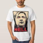 Infierno torcido de Hillary Clinton - Anti-Hillary Playera