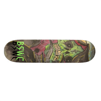 Infierno verde patineta personalizada