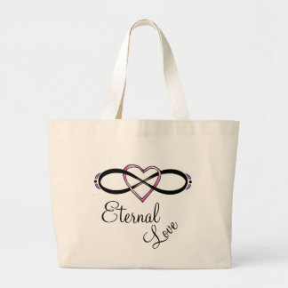Infinate Love design Canvas Bags