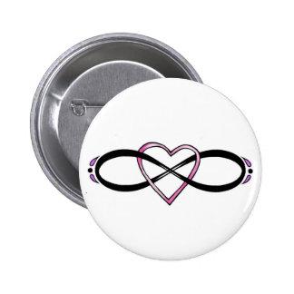 Infinate Love design Pin