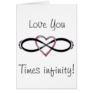 Infinate Love design Cards