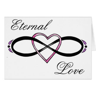 Infinate Love design Greeting Cards