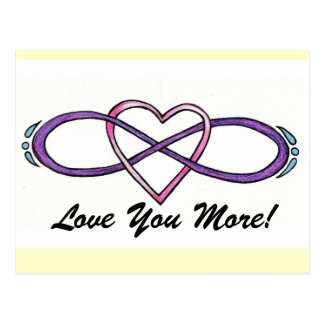 Infinate Love design Post Cards