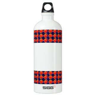 Infiniity Symbol Red BLANK strip add TEXT IMAGE 99 SIGG Traveler 1.0L Water Bottle