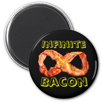 Infinite Bacon 2 Inch Round Magnet