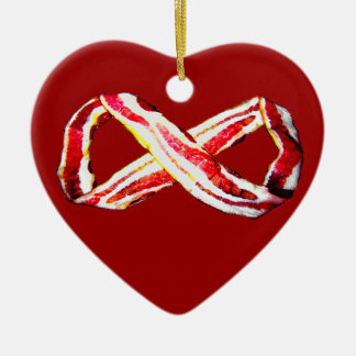 Infinite BACON! Ceramic Ornament