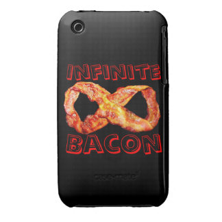 Infinite Bacon iPhone 3 Case-Mate Cases