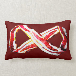 Infinite BACON! Lumbar Pillow