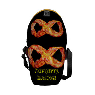 Infinite Bacon Commuter Bags