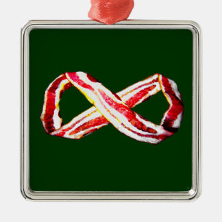 Infinite BACON! Metal Ornament