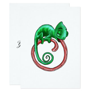 Infinite Chameleon Card Flat