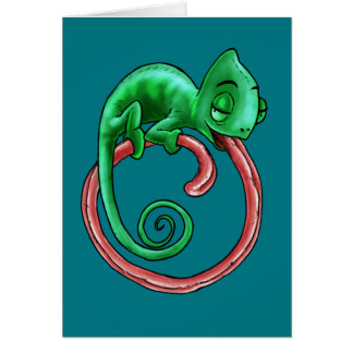 Infinite Chameleon Card Folded