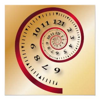 Infinite clock card