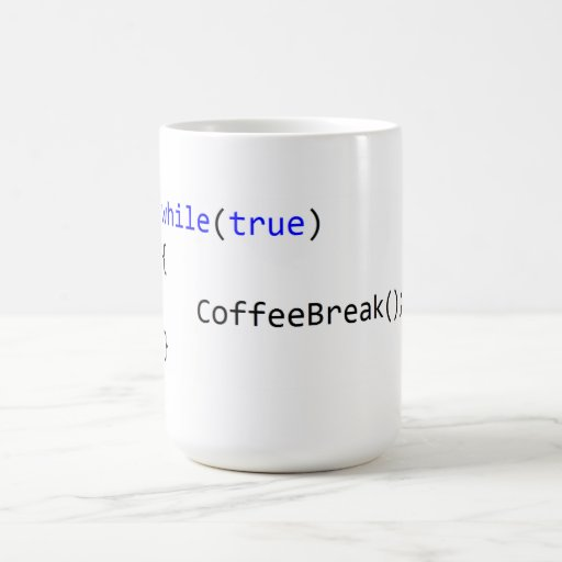 Infinite Coffee Break Loop Mug