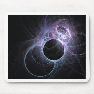 Infinite Eclipse Fractal Mouse Pad
