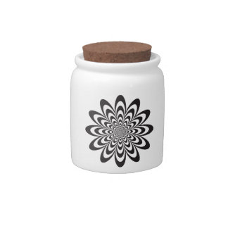 Infinite Flower Candy Jars