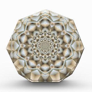 Infinite Geometric Cubes Acrylic Award