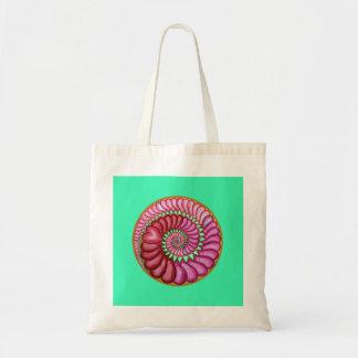 Infinite Heart - green Tote Bag
