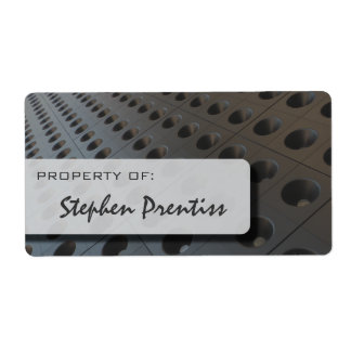 Infinite Holes Hi-Tech Property Label Shipping Label
