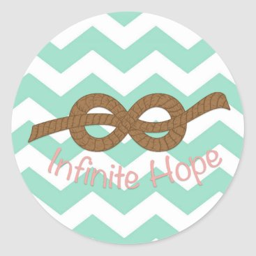 Professional Business Infinite Hope Classic Round Sticker