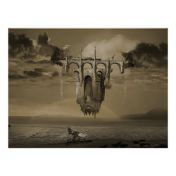 Infinite Improbability Drive surreal poster