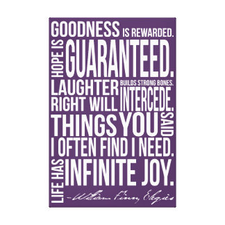 Infinite Joy Canvas Print