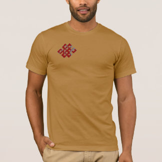 Infinite Knot in Red. T-Shirt