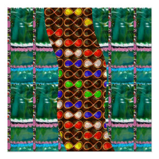 INFINITE Love Colorful Pearl Design Strip GIFT FUN Poster