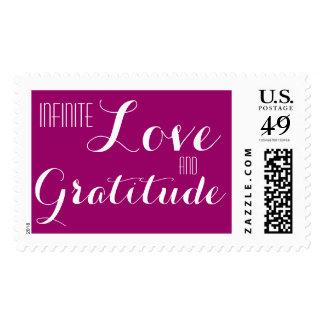 Infinite Love & Gratitude Heart Stamps