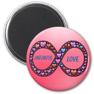 Infinite Love magnet 2 Inch Round Magnet