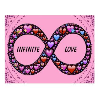 Infinite Love postcard