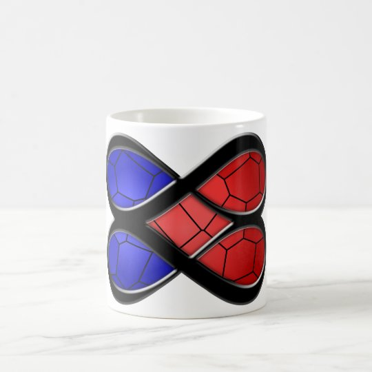 Infinite Love Stained Glass Coffee Mug