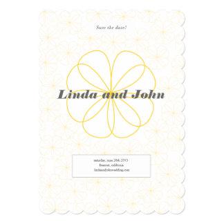 Infinite Love Wedding Save-The-Date Card