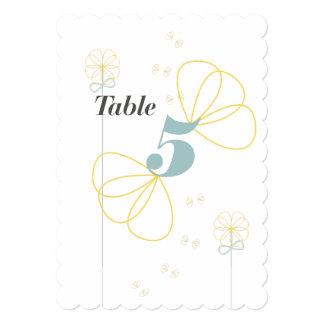 Infinite Love Wedding Table Card