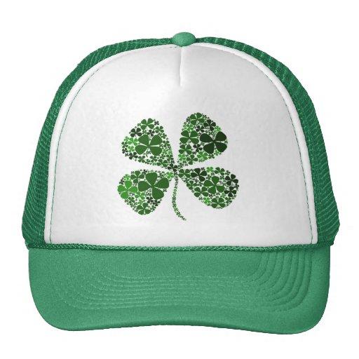 Infinite Luck 4-leaf Clover Mesh Hats