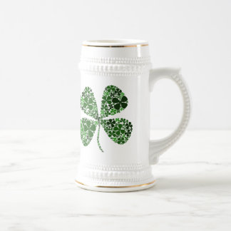 Infinite Luck 4-leaf Clover Coffee Mug