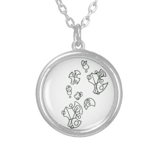 Infinite Neckalce Silver Plated Necklace
