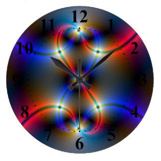 Infinite Neon Clock
