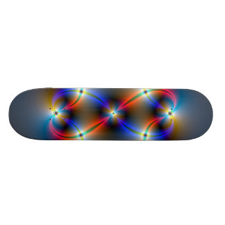 Infinite Neon Skateboard