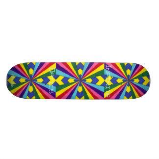 Infinite Optics Skateboard Deck