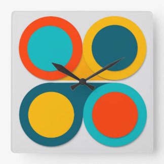 Infinite Possibilities Square Wall Clock
