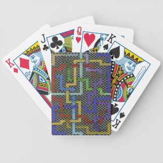 Infinite Puzzle Maze Interconnectable Art Bicycle Playing Cards