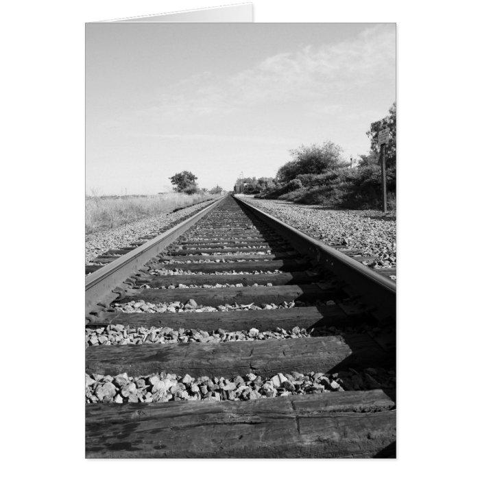Infinite Railroad Greeting Card,Note Card