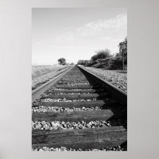 Infinite Railroad Poster,Print Poster
