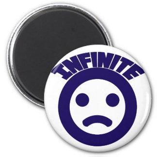 Infinite =( refrigerator magnet