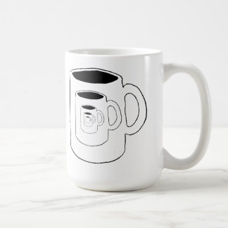 Infinite regression coffee mug