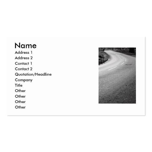Infinite Road Business Card