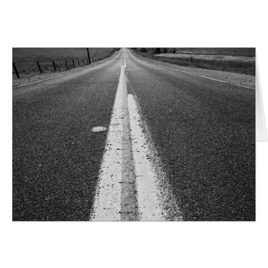 Infinite Road Greeting Card,Note Card