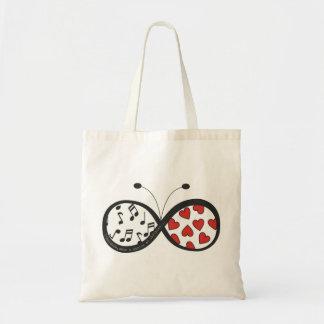 Infinite stock market tote bag