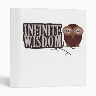 Infinite Wisdom 3 Ring Binders